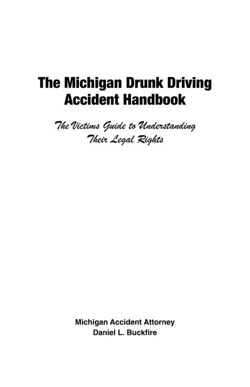 Michigan Accident Books