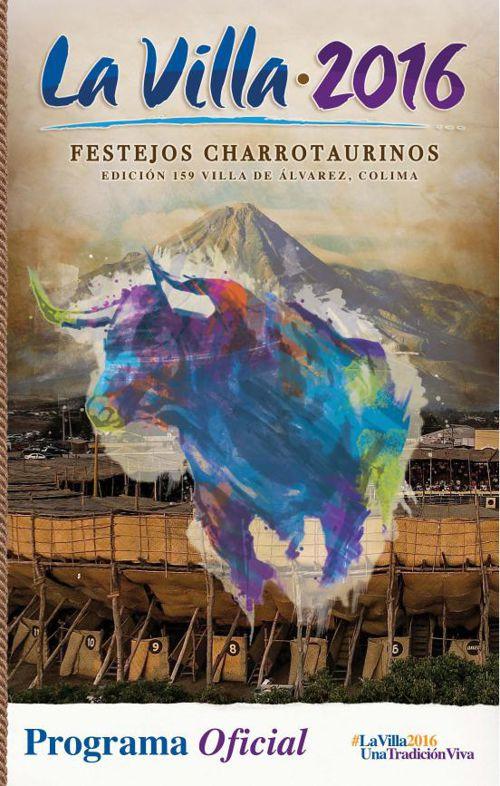 Programa Oficial Festejos Charrotaurinos Villa de Álvares 2016