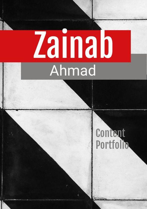 Zainab's Content Portfolio