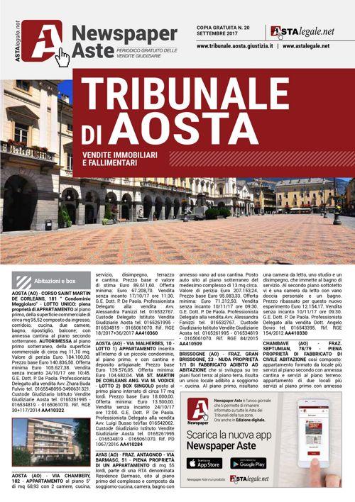 Aosta settembre 2017