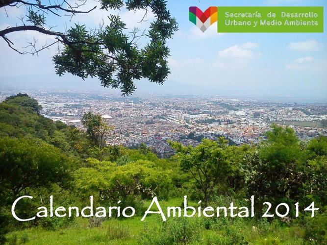 Calendario Ambiental 2014 -M