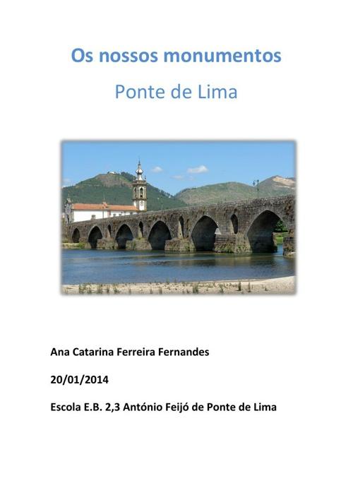 A Vila de Ponte de Lima