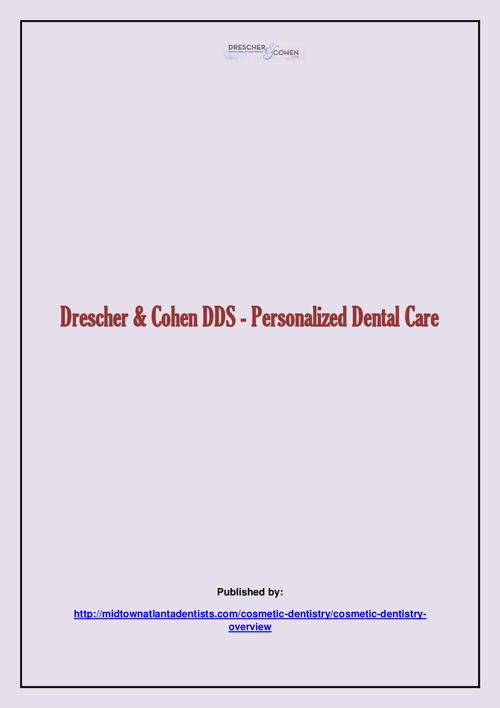 Drescher & Cohen DDS - Personalized Dental Care