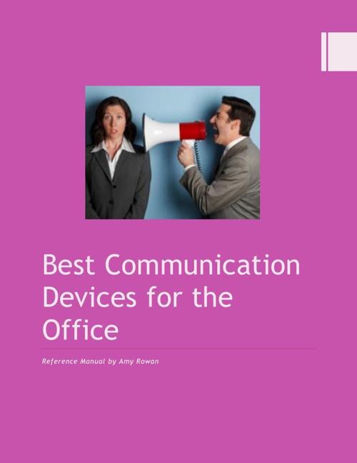 Best Communication Devices for the Office