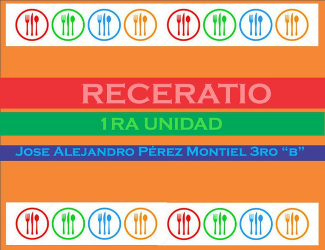 RECETARIO ALEX