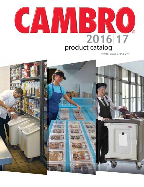 Cambro 2016-17 English Metric World