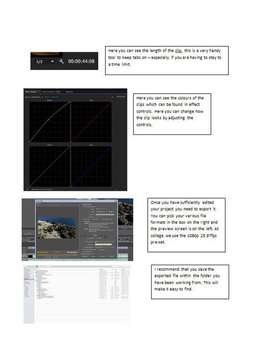 Premiere Pro Editing Guide
