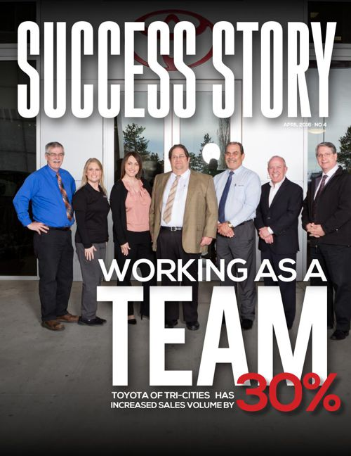 Working as a Team: Toyota of Tri-cities has increased sales volu
