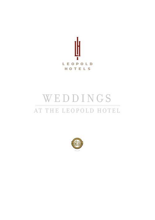 Leopold Hotel Sheffield Brochure