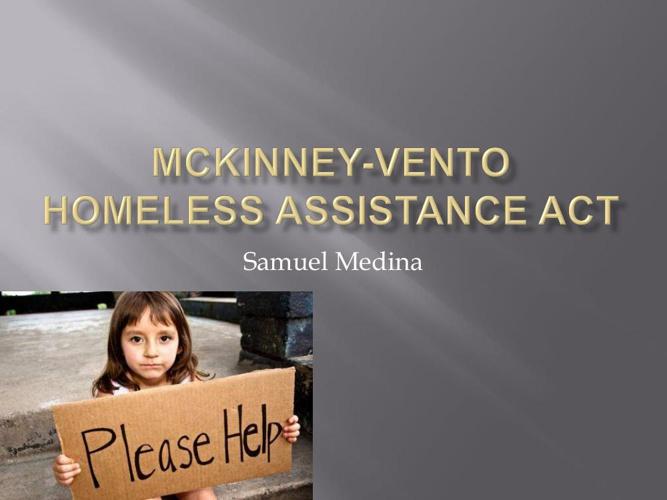 McKinney-Vento Homeless Assistance Act