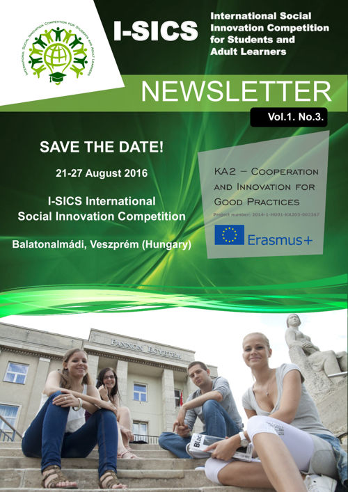 I-SICS Newsletter Vol.1. No.3.