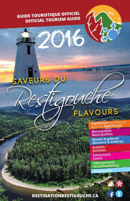 Guide touristique du Restigouche 2016