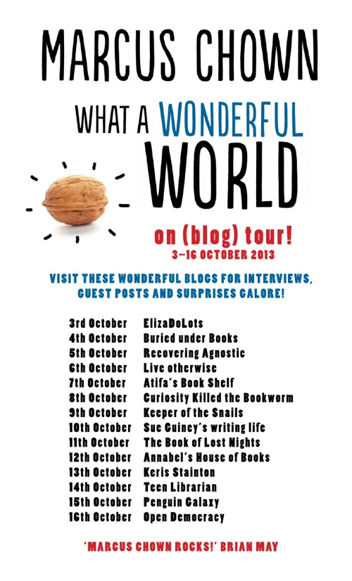 Marcus Chown's What a Wonderful World Blog Tour