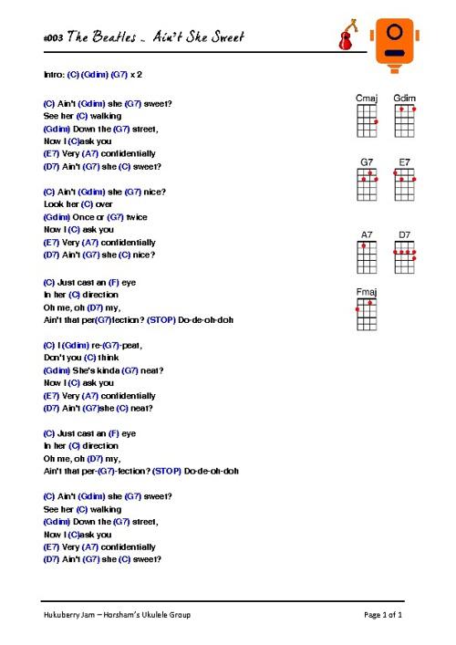 Songbook testing