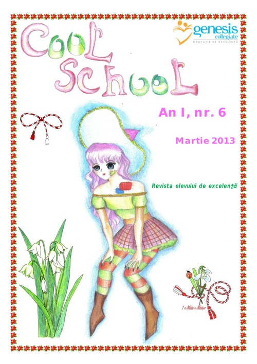 Cool School 6, Revista Scolii Genesis