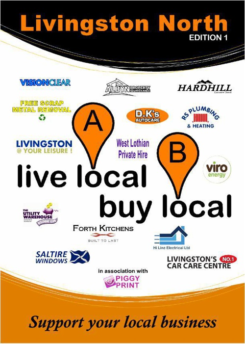 Live Local Buy Local Livingston North Edition 1