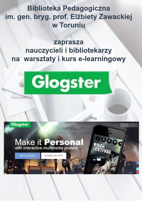 Glogster – warsztaty i kurs e-learningowy
