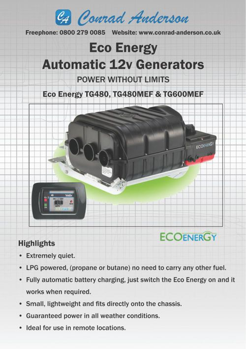 Telair TG480 Brochure ECO Energy