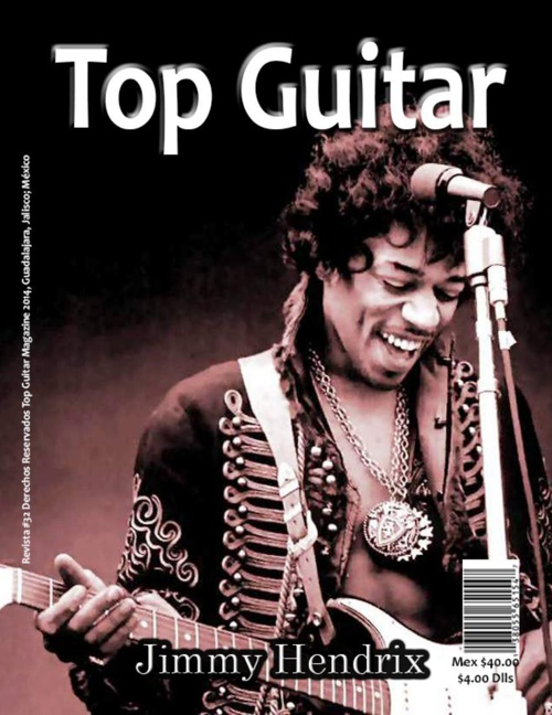 Revista Top Guitar (Antes y despues)(Imagenes con Aurasma))