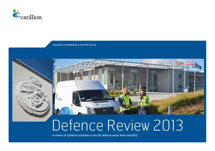 Carillion Defence Review 2013