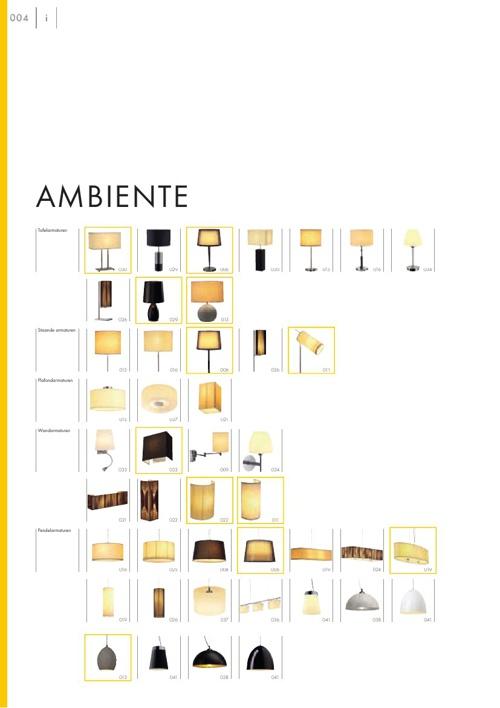 Catalogus Verlichting