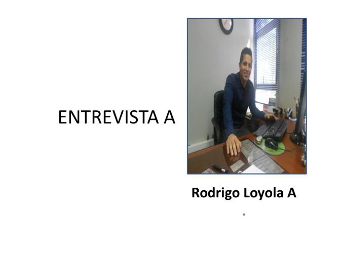Entrevista a Rodrigo