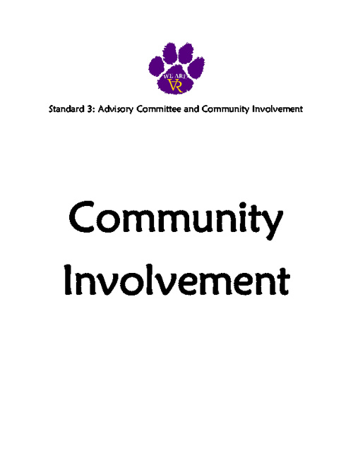 Standard 3: #37 Community Involvement
