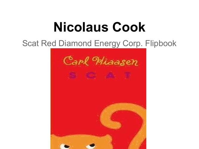 Nicolaus cook Scat flipbook