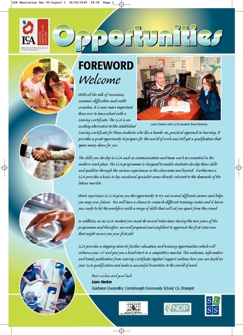 LCA newsletter 2009
