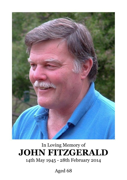 4 Order of Service for John Lewis Fitzgerald