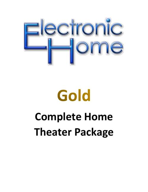 EH Gold Theater Package
