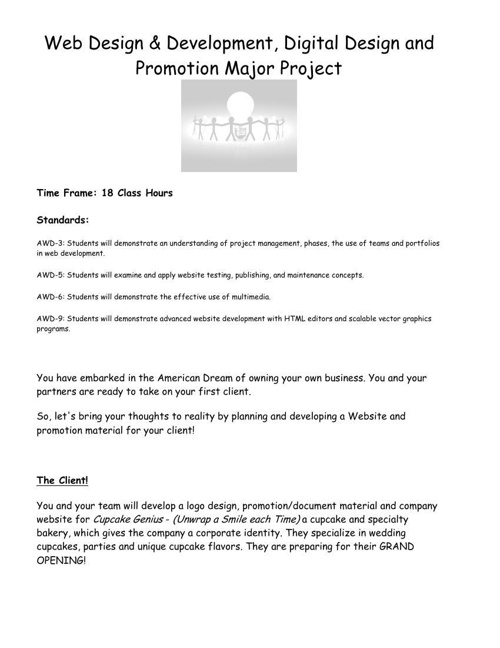 Web Design and Development Long Term Project_AWD