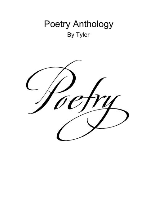 Tyler Poetry January