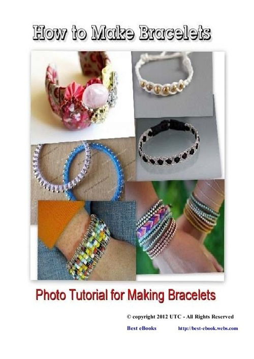 How to Make Bracelets and Earrings