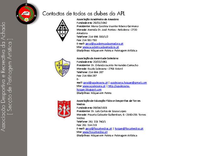 Contactos APL