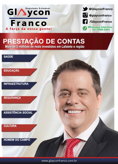 Prestação de Contas - Deputado Glaycon Franco