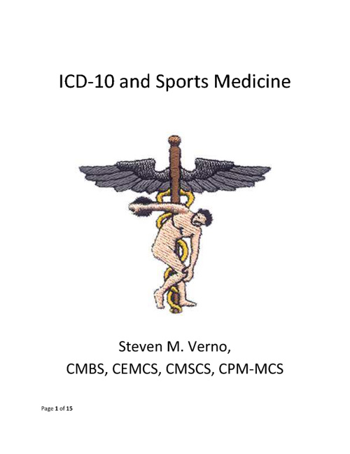 ICD-10 and Sports Medicine