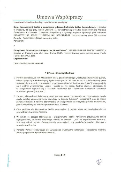 umowa Nowa Kultura BM