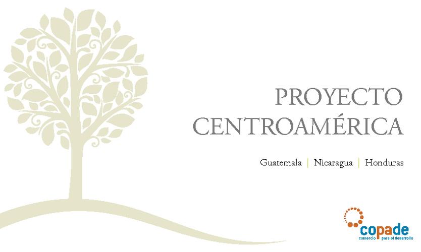 Proyecto centroamerica