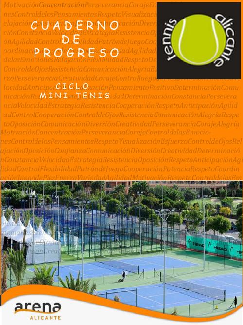 project cuaderno progreso minitenis