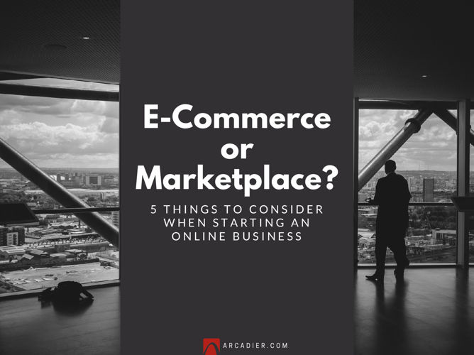 E-Commerce or Marketplace