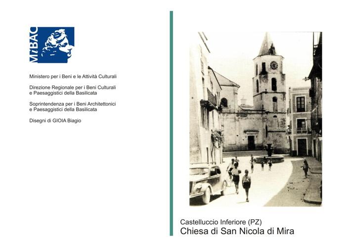 Castelluccio Inferiore - Chiesa di San Nicola di Mira