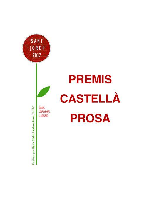 Premis Prosa Castellà 2017