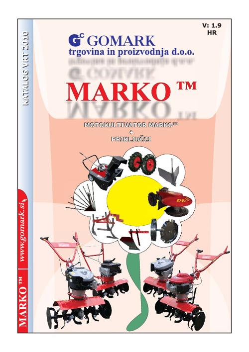 MOTORNA KOPAČICA MARKO - CRO -