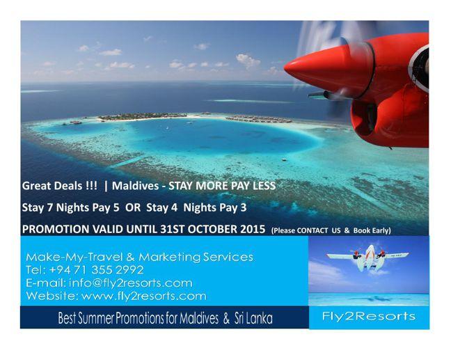 Summer Promotion - Maldives