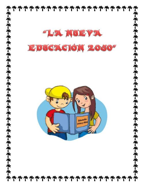 la nueva educacion 2050