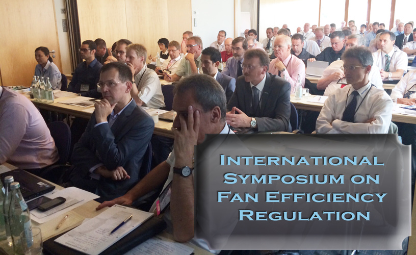 International Symposium on Fan Efficiency Regulation