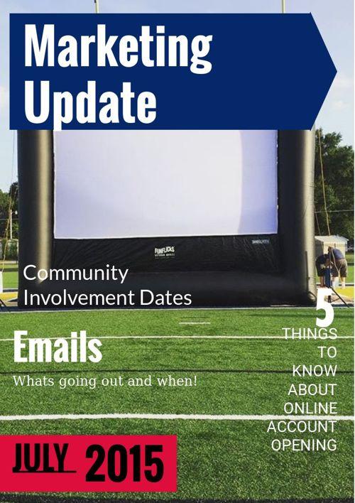 Marketing Update