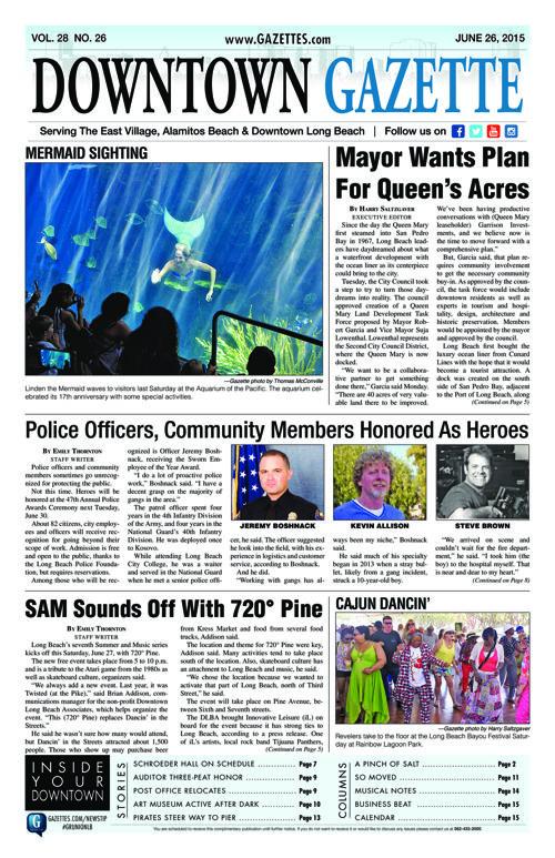 Downtown Gazette  |  June 26, 2015