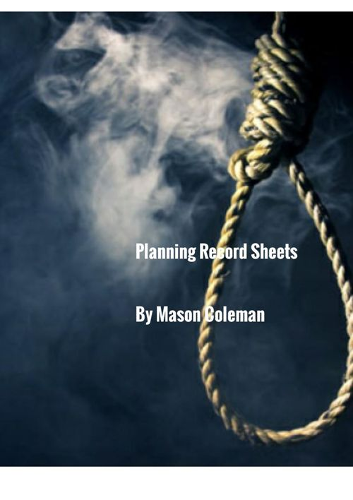 Planning Record Sheets PDF